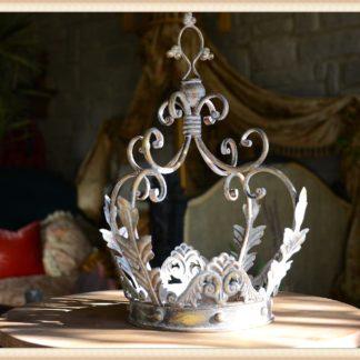 Metal Gold Filigree Crown