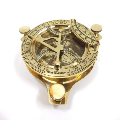 Vintage Sundial Compass