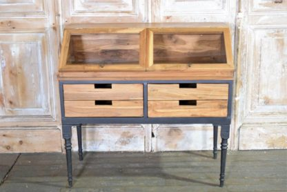 Wood and Metal Display Case