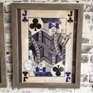 Kentucky Jack of Clubs (Framed)