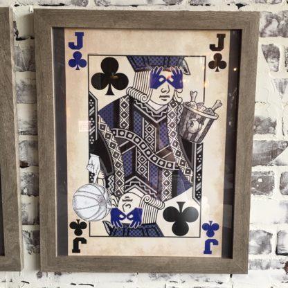 Kentucky Jack of Clubs (Framed)