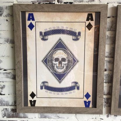 Kentucky Ace of Diamonds (Framed)