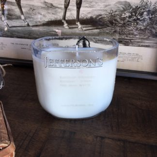 Recycled Jefferson's Small Batch Bourbon Candle