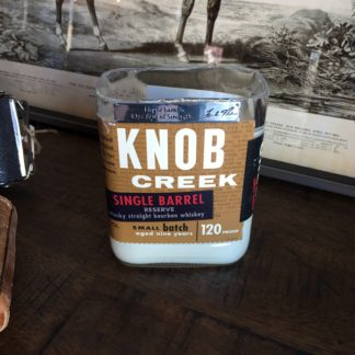 Recycled Knob Creek Single Barrel Bourbon Candle