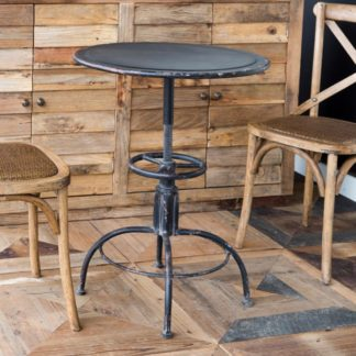 Industrial Round Side Table