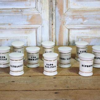 Ceramic Apothecary Jars