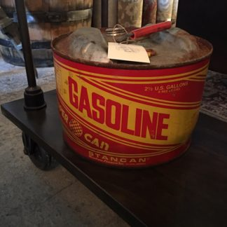 Vintage Metal Gasoline Can