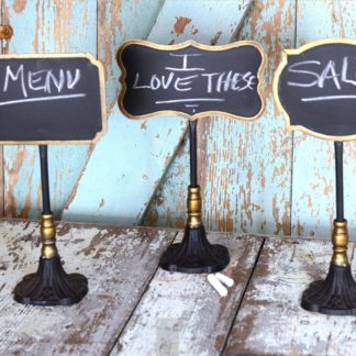 Metal Stand Mini Chalkboards