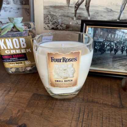 Recycled Four Roses Small Batch Bourbon Candle