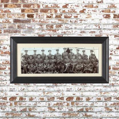 Vintage Batallion Photo Framed Print 2