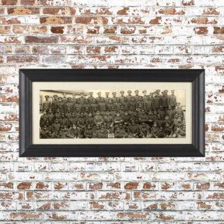 Vintage Batallion Photo Framed Print 3