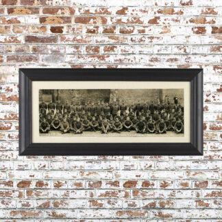 Vintage Batallion Photo Framed Print 4