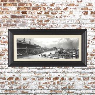 Vintage Kentucky Derby Framed Photo